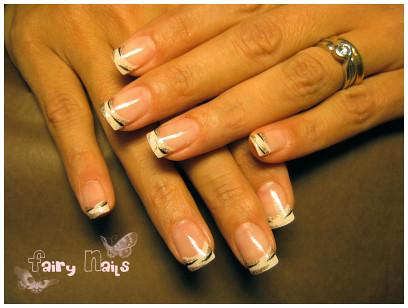 nail art gallery, tiger nails, nail art designs, nail polish gallery, Tiger style nail art design gallery, nail art designs gallery