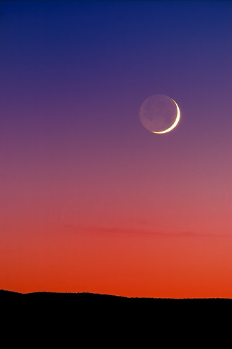 Grand Crescent Moon Sunset | Flickr - Photo Sharing!