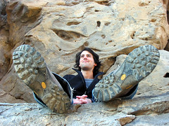 fossil falls redteam (bojaboy) Tags: cliff rock climbing gorge volcanic basalt owensriver fossilfalls