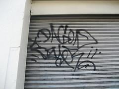 (kewlio) Tags: sanfrancisco graffiti dagon dzyer