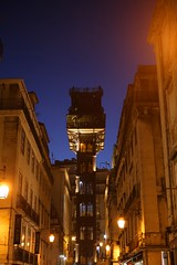 IMG_3638 (AndyMc87) Tags: blue hour lissabon lisboa lisbon portugal lift city latern light night outdoor elevador de santa justa rua do ouro raoul mesnier ponsard canon eos 6d 2470