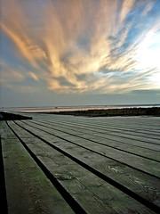 NSRI Jetty (mliebenberg) Tags: northwest sunsets lancashire lytham autumnsunsets
