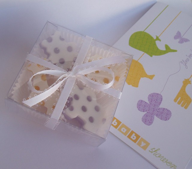 Baby shower soaps, in box