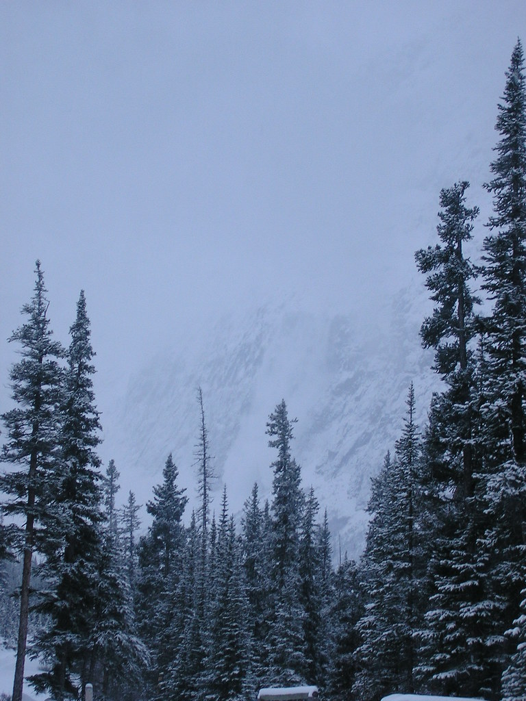 Powder Fall, Mount Edith Cavell