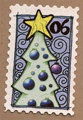 Artistamp: Christmas '06 (renmeleon) Tags: art moleskine journal reporter ria artistamps renmeleon renfolio