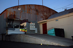 Nollie back heel (tunaboat) Tags: california board skate ing ventura 28mmf28e