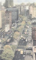 View of Upper broadway