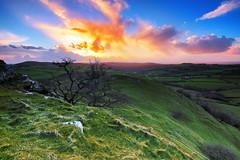 Carmarthenshire Sunset (Sean Bolton (no longer active)) Tags: sunset field wales landscape carmarthenshire scenery cymru wfc carregcennen seanbolton impressedbeauty welshflickrcymru ffotocymrucouk ffotocymru
