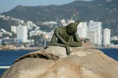 Tomando el sol @ Acapulco (Esparta) Tags: estatua descanso piedra mexico:state=guerrero mexico:estado=guerrero mexico:state=gro mexico:estado=gro