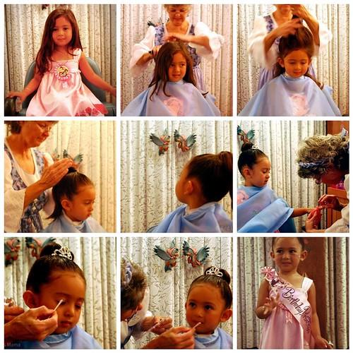 princess transformation