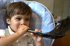 Shofar Sam (jetrotz) Tags: sam yomkippur horn ourkids shofar
