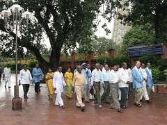 Bogh Gaya promenade outside Temple