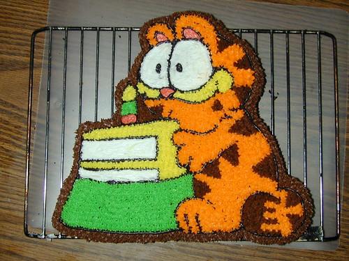 amin's garfield cake