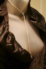 chain (AdamAtom) Tags: woman mannequin fashion neck chain cleavage collarbone