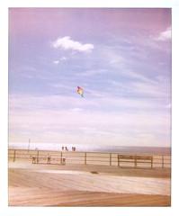 coney island (anniebee) Tags: brooklyn polaroid coneyisland boardwalk polaroidspectra