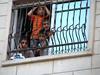 palestinian kids in window
