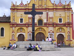 San Cristobal de las Casas colori tradizioni Chiapas Messico comunità indigene America Latina