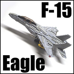 Strike Eagle (psiaki) Tags: airplane fighter lego eagle military jet airforce douglas usaf mcdonnell f15