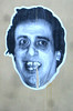 Blue paste-up face (Smeerch) Tags: blue italy rome roma muro pasteup face wall paper graffiti italia faces blu bleu walls graffito adhesive carta aerosolart lazio muri facce faccia adesivo adesivi adhesives pontetiburtina zonapontetiburtina viaolindomalagodi viamalagodi