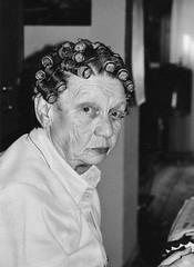 curls (cool_colonia4711) Tags: fun crazy spas funny grandmother alt rip lustig curler oma frau witzig witz foke lockenwickler 10242006