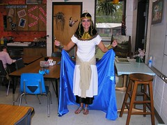 Queen Cleopatra (Old Shoe Woman) Tags: school books teachers bookcharacters redribbonweek readathon yearbook2006 drugawareness goodcharacters