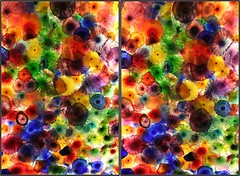"Bellagio Ceiling, ""Fiori di Como"" in 3D (craighagan) Tags: chihuly glass 3d bellagio chacha parallel"