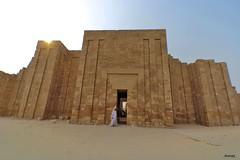 Entrace To The The Pyramid of Djoser... (Nomad Saleh) Tags: geotagged sand desert pyramid egypt entrance cairo egyptian nomad necropolis saqqara sakkara djoser imhotep geo:lat=29869173 geo:tool=gmif phaores geo:lon=31217619