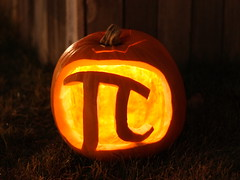 A holiday tradition (jpstanley) Tags: halloween pumpkin jackolantern pi tradition punny pumpkinpi holidaytradition