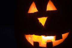 Happy Halloween (trucolorsfly) Tags: halloween pumpkin candle jackolanterns