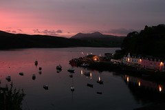 Sunrise over Portree (Skye)