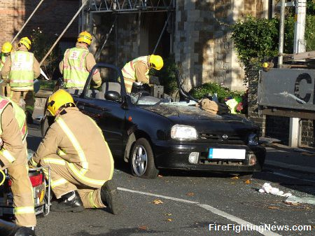 Kent Fire And Rescue Service Free Trapped Driver
