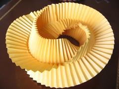 Vertigo by Me (georigami) Tags: paper origami papel tessellation papiroflexia corrugation origamiforum pleat corrugado troublewit