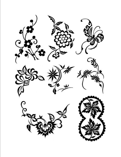 Chinese Folk Designs  Free Henna Design Page Henna Blog Spot. Designs Images