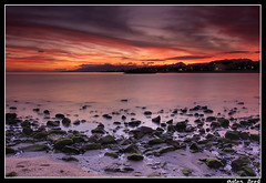 La Dorada Sunset (Aitor Escauriaza) Tags: windows sunset sea sky photoshop d50 geotagged sand nikon cs2 adobe 1855 cambrils reus geo:lat=4106408 seasand outstandingshots aitorescauriaza geo:lon=105237 sunsetrotianet