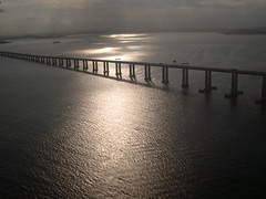 Rio-Nitero bridge (IVWII) Tags: bridge brazil sun water beautiful rio brasil riodejaneiro carioca nitero pontecostaesilva cotcbestof2006