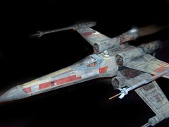 X-Wing Fighter from original Star Wars film (mharrsch) Tags: oregon movie portland starwars aircraft sciencefiction spacecraft omsi georgelucas xwingfighter