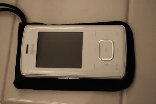 LG Chocolate Phone - White