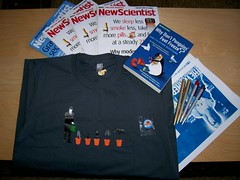 The Hunt Package (Sparkes) Tags: new london shirt magazine t big hill hide prize draw spreadshirt tee scientist herne newscientist