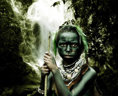 Papua New Guinea boy