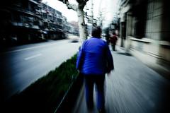 Shanghai Outtakes:Blue (TommyOshima) Tags: streets shanghai rd1 21mm superangulon