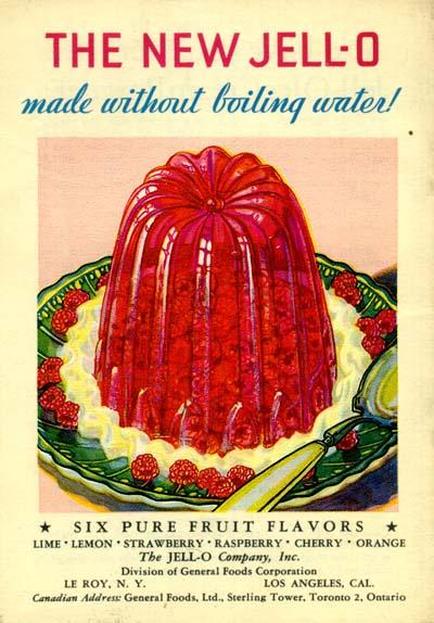 Jell-O Company ad, 1932