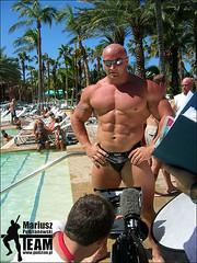 Mariusz Pudzianowski Poolside (Pete90291) Tags: strongman strongmen worldsstrongestman mariuszapudzianowskiego mariuszpudzianowski