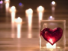 Heart  (RottieLover) Tags: light shadow reflection glass freeassociation nikon candles glow candle heart d200 18200mm 18200mmf3556gvr nikonstunninggallery anawesomeshot impressedbeauty ibybvd074 ibybvd074f