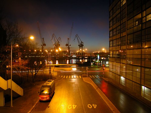 Helsinki's cranes