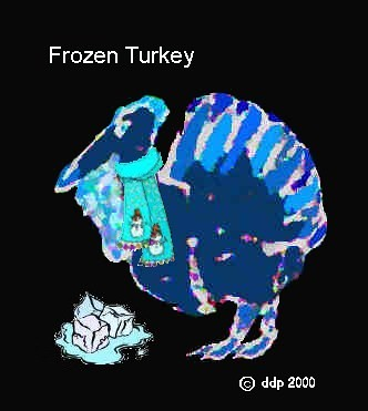Frozen Turkey for Thanksgiving & a True Short Story by Me