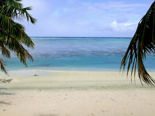Beach @ Aitutaki, Cook Islands
