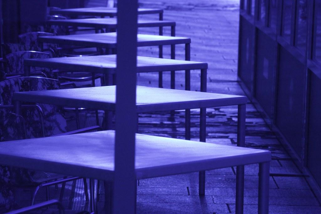 Tables Outside Dublin Restaurant