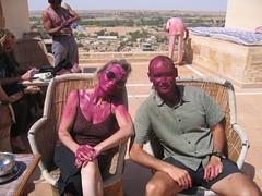 Holi Friends (kekyrex) Tags: india festivals holi jaisalmer rajasthan
