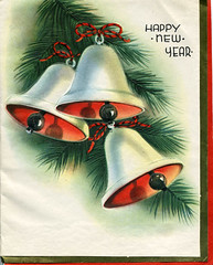 Happy New Year! (compact collection) Tags: christmas bells holidays advent christmascards vintagegreetingcards