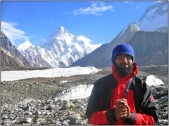 Look ma! Look where I went! (Ahmad A Karim) Tags: las pakistan me k2 karakoram lums karakorams baltoro theadventuringelf summitk2 elevation8611m altitude5000m